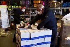 Mascherine non a norma, sequestro della Finanza: coinvolta una farmacia di Terlizzi