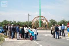 Inaugurata la rotatoria di via Mariotto