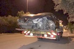 Incidente nella notte sulla Terlizzi-Ruvo, due auto coinvolte