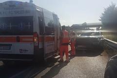 Brutto incidente allo svincolo di Portoni sulla provinciale 231. Le FOTO
