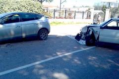 Due auto si scontrano sulla Provinciale Terlizzi-Ruvo
