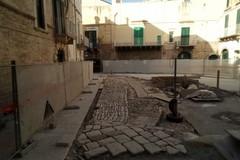 Terminati i lavori di riposizionamento dell'antico selciato in largo Savoia. Le FOTO