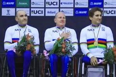 Luca Mazzone dedica la medaglia d'oro a Mimmo Tempesta
