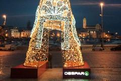 "A Trani Piazza Quercia si illumina con ""Despar"""