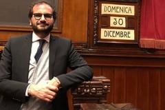 Marcello Gemmato a Roma contro il governo giallo-rosso