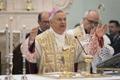 Alle 10.00 la Santa Messa officiata da Mons. Cornacchia in diretta dall'Episcopio