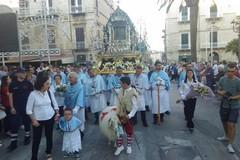 Madonna di Sovereto, la processione il giorno di Pasqua