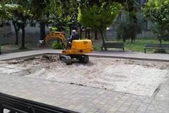 Lavori in corso a Parco Marinelli