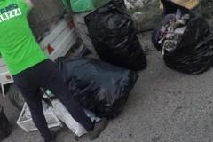 Rimossi i rifiuti presso lo svincolo di Portoni e su strada comunale Monserino