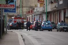 Principio di incendio in un locale in via Molfetta