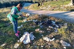 Azione di pulizia attorno a Lama Lioy
