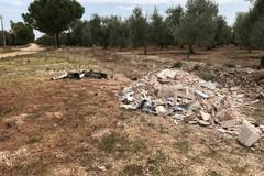 Rimossi oltre 20 quintali di macerie edili sulla Traiana