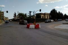 In arrivo il terzo rondò tra via Diaz, viale Italia, viale Pacecco verso Molfetta