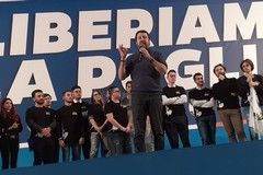 Regionali, Salvini a Bari lancia la volata al centrodestra (VIDEO)