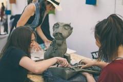 Bambini alla scoperta della natura e dell'argilla