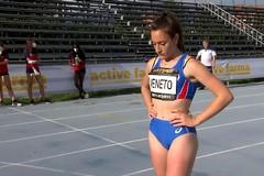 Francesca Veneto è terza nei 200 metri al 'Trofeo Città di Rieti'