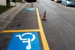 Nuova segnaletica orizzontale sulle strade cittadine
