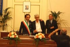 La firma dei consiglieri eletti, ma Vitagliano si dimette