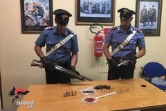 In giro di notte armato fino ai denti: arrestato un 50enne