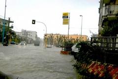 Terlizzi sott'acqua, traffico in tilt (FOTO)