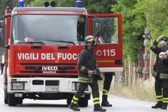 Fuga di gas in via Regina Margherita