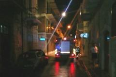 Notte di fuoco in via Bisceglia: auto in fiamme