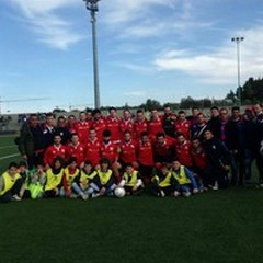 Città dei fiori Terlizzi - Partizan Gioia 3-0. E' promozione.