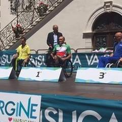 Luca Mazzone doppio oro ai campionati italiani di handbike