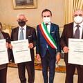 """Onorificenze al  """"Merito della Repubblica Italiana """": premiati tre cittadini di Terlizzi"""