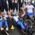 Luca Mazzone è oro olimpico nella staffetta