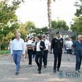Gemmato in sopralluogo al Parco comunale con Carabinieri e Polizia Locale
