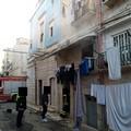 Principio d'incendio in un'abitazione