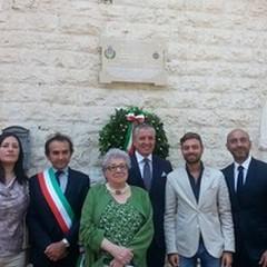 Le foto della cerimonia di commemorazione di Giovanni Pomodoro