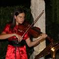 Florangela D'Elia tra i violini primi all'inaugurazione Teatro Piccinni