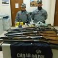 Denunciato presunto bracconiere di Terlizzi: falsa licenza d'armi, forestali sequestrano 7 fucili e 600 munizioni