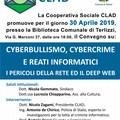 """A Terlizzi il convegno su  """"Cyberbullismo, Cyberstalking, cybercrime e reati informatici"""