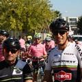 Croceristi in bicicletta in visita nelle campagne di Terlizzi