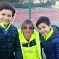 Due cugini in campo e commozione per Marilia, tennista terlizzese scomparsa da poco