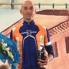 Il terlizzese Gianfranco de Lucia si laurea campione del Veneto