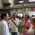 L'assessore Dimitrio al lavoro, si parte del mercato dei fiori