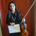 Due Primi Premi per Florangela D'Elia ed il suo violino