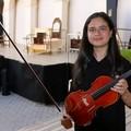 Florangela D'Elia, la violinista che frequenterà insieme liceo e università