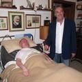 Gianni Ciardo fa visita ad un infermo: la storia commuove il web