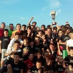 """Real Football Terlizzi vince il  """"Trofeo dei Cedri """" in terra di Calabria"""