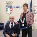 Collare d'oro del CONI per Luca Mazzone