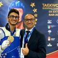 Parla Martino Montanaro presidente del Taekwondo Puglia