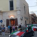 Italia prima nel girone. LE FOTO della festa per le strade di Terlizzi