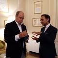 Ninni Gemmato ha incontrato il Principe Alberto II di Monaco a Rimini. Le FOTO