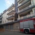 Intervento dei Vigili del Fuoco in via Pistoia