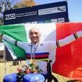 Luca Mazzone primo al campionato italiano di ciclismo